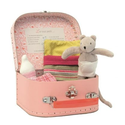 Moulin Roty Grand Family Baby Mouse and Suitcase