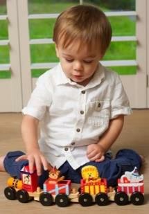 Wooden Cars & Trains from Orange Tree Toys