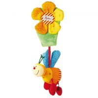 Bee and Flower Activity Pram Toy by Sigikid