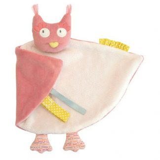 Mademoiselle et Ribambelle Owl Comforter by Moulin Roty