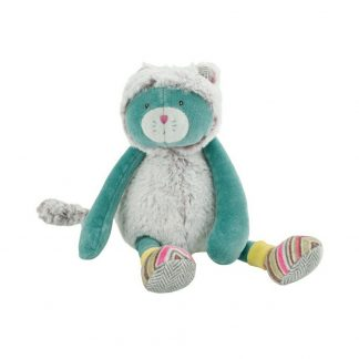 Moulin Roty Les Pachats Green Cat