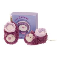 Moulin Roty Mia Cat Baby Slippers