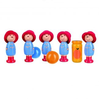 Paddington Bear Wooden Skittles