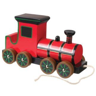 Pull Along Wooden Steam Train