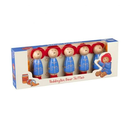 Wooden Paddington Skittles Packaging