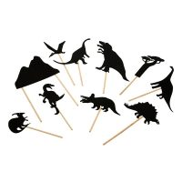 Dinosaur Night Time Shadow Set