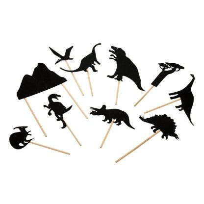 Dinosaur Night Time Shadow Set