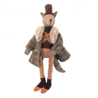 Gentleman Wolf Doll by Moulin Roty