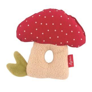 Organic Mushroom Rattle
