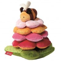 Flower and Bee Stacking Toy