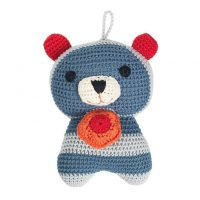 Crochet Paw Raccoon Musical Toy by Franck & Fischer