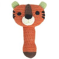 Crochet Gustav Tiger Rattle by Franck & Fischer