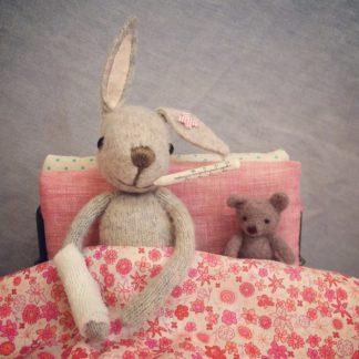 Get Well Soon Rabbit Card