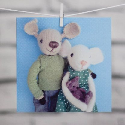 New Baby Card Hanging Pippi & Me