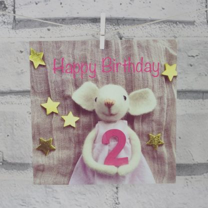 2nd Birthday Card