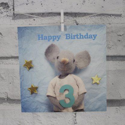 3rd Birthday Card