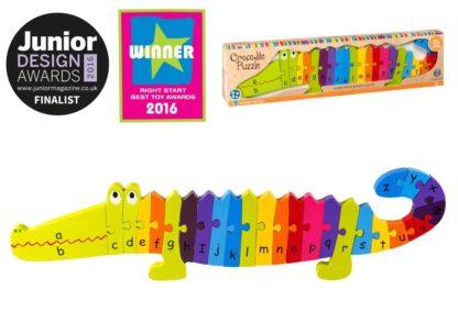 Crocodile Puzzle - Awards
