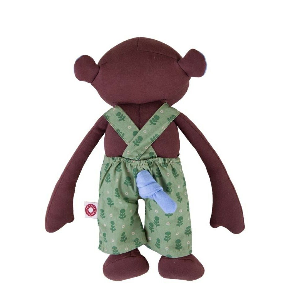 Franck Amp Fischer Organic Frederik Monkey Soft Toy