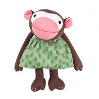 Organic Frida Monkey Soft Toy