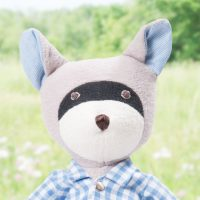 Max Raccoon Soft Toy