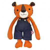 Organic Jeppe Tiger Soft Toy