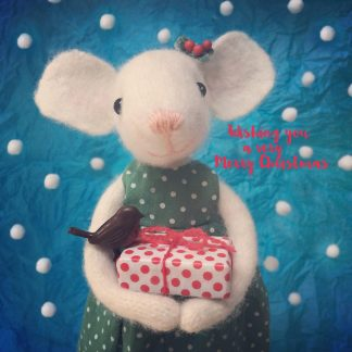Pippi & Me Christmas Card xmas16q