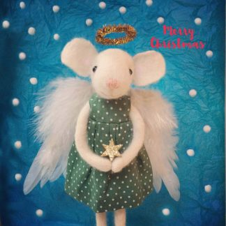 Pippi & Me Christmas Angel Mouse