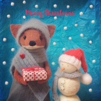 Pippi & Me Christmas Card xmas16n
