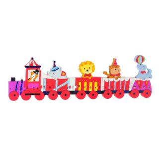 Alphabet Animal Circus Train Puzzle