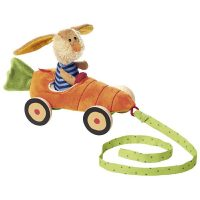 Carrot Car Pull Along Toy Sigikid