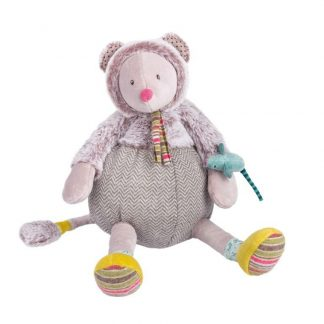 Les Pachats Grey Mouse Doll Moulin Roty
