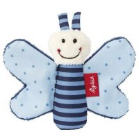 Sigikid Blue Butterfly Grasp Toy