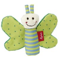 Sigikid Green Butterfly Grasp Toy