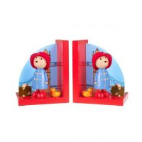 Paddington Bear Wooden Bookends
