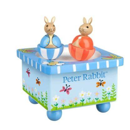 Wooden Peter Rabbit Music Box