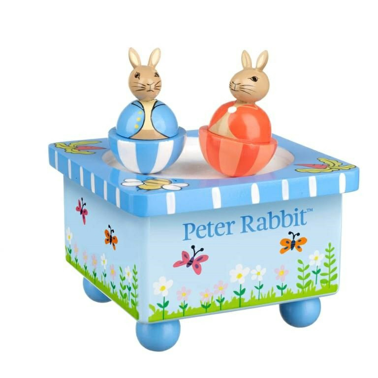 Orange Tree Toys Wooden Peter Rabbit Music Box