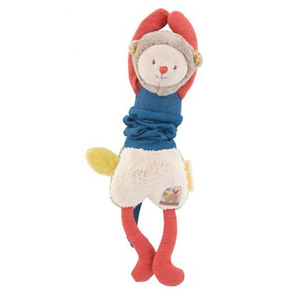 Les Papoum Jittery Monkey Soft Toy