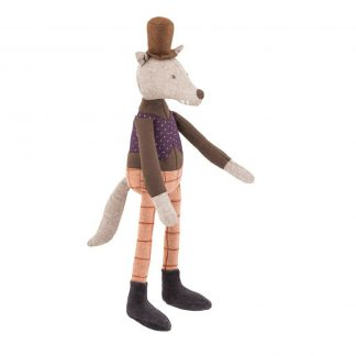 Moulin Roty Gentleman Wolf Doll Small