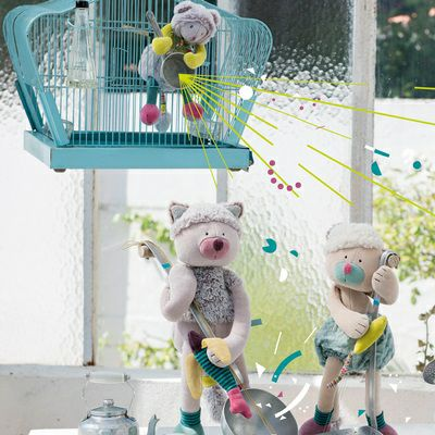 Les Pachats Soft Toy Cats by Moulin Roty