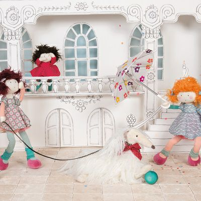 Moulin Roty Les Coquettes Soft Toys