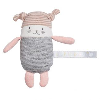 Les Petits Dodos Moon Cat Small Rattle