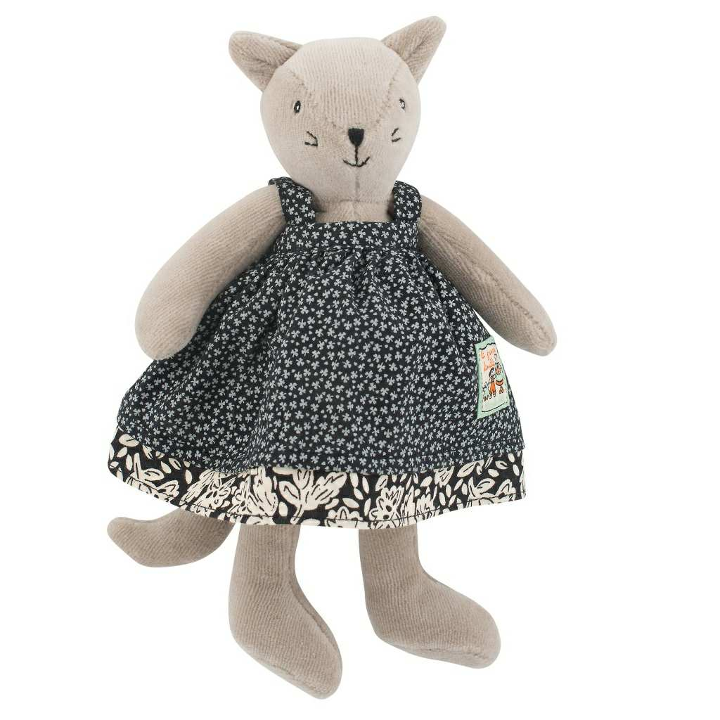 c8c4daf09 Moulin Roty Grande Famille Little Agathe Cat 20 cm