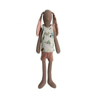 Maileg Medium Boy Bunny in Vest and Shorts