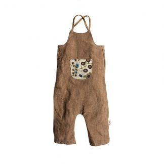 Maileg Medium Brown Overalls