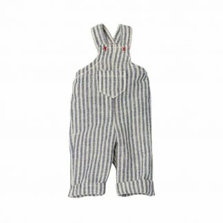 Maileg Mini Stripy Overalls