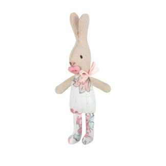 Maileg My rabbit with pink button dummy