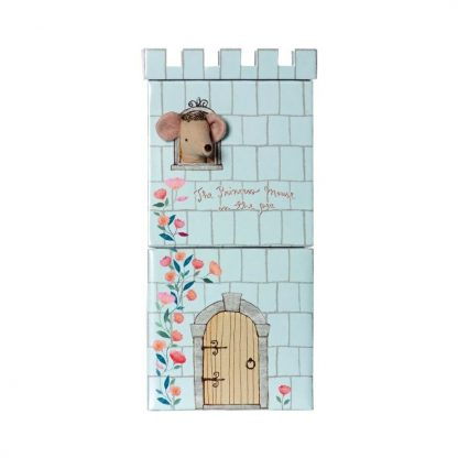 Maileg Princess Mouse and the Pea Play Set Tower