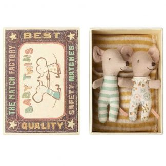 Maileg Twin Matchbox Mice
