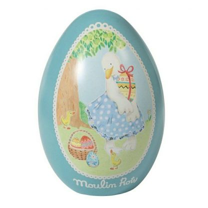 Moulin Roty Jeanne Duck Tin Easter Egg