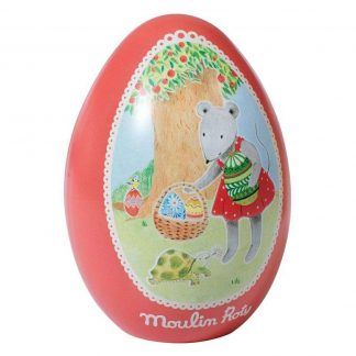Moulin Roty Nini Mouse Tin Easter Egg